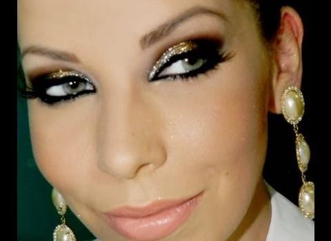 Tutorial de Maquiagem Glamour para Ano Novo