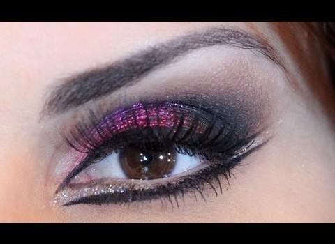 Tutorial de Maquiagem Inspiração Árabe com Glitter