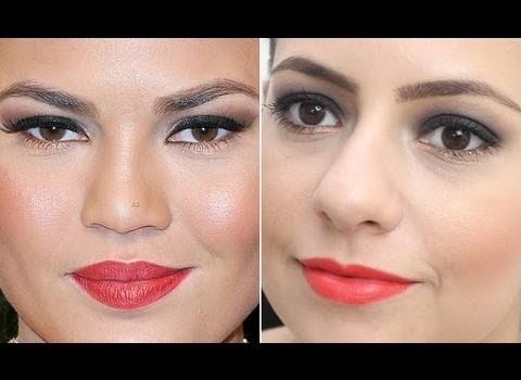Tutorial de Maquiagem Inspirada na Chrissy Teigen no Oscar 2013