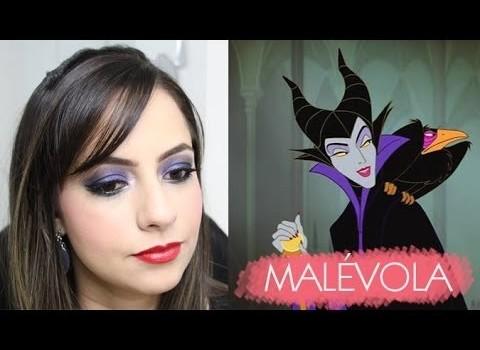 Tutorial de Maquiagem inspirada na Malévola