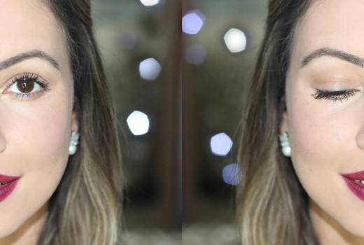 Tutorial de Maquiagem | Olho Nada e Boca Tudo