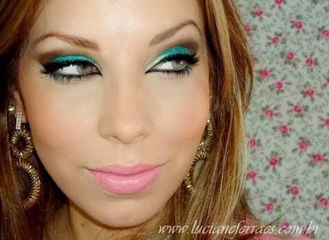 Tutorial de Maquiagem para Ano Novo Colorido