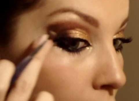 Tutorial de Maquiagem para Festa com Inspiração em Baile de Gala