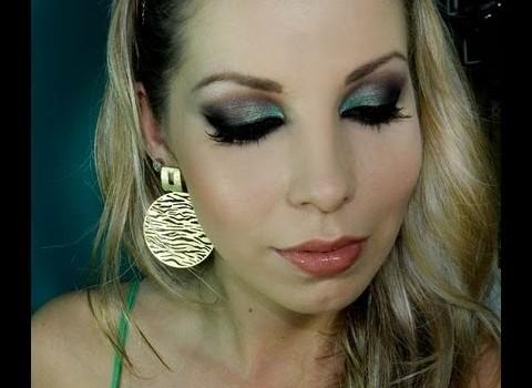 Tutorial de Maquiagem para Festas de Fim de Ano para Morenas