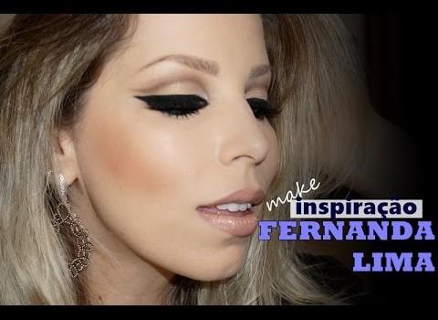 Tutorial de Maquiagem Retrô com inspiração na Fernanda Lima