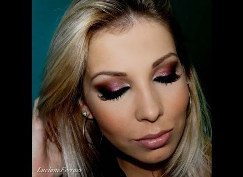 Tutorial de Maquiagem Super Feminina para Noite
