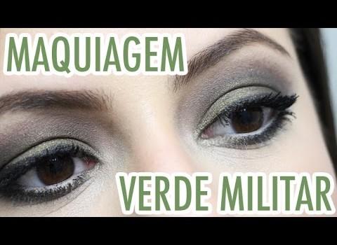 Tutorial de Maquiagem Verde Musgo Neutro