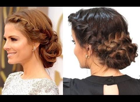 Tutorial de Penteado Inspirado na Maria Menounos no Oscar 2014