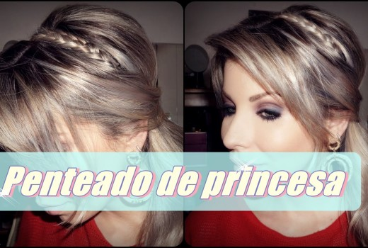 Tutorial para Penteado de Princesa
