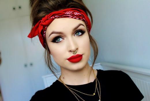 Tutorial Simples de Maquiagem Inspiração Pin-Up