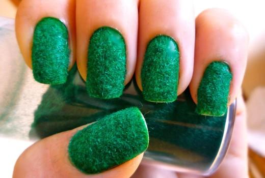 Unhas de Veludo ou Pelucia – Velvet Nail – Tutorial Nail Art