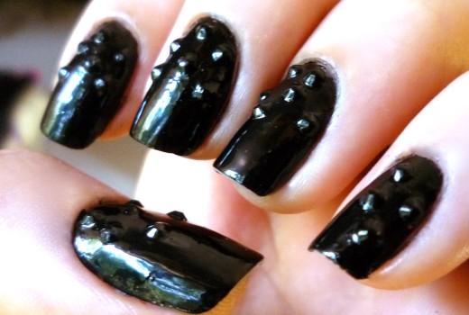 Unhas Decoradas – 3D Black – Nail Art