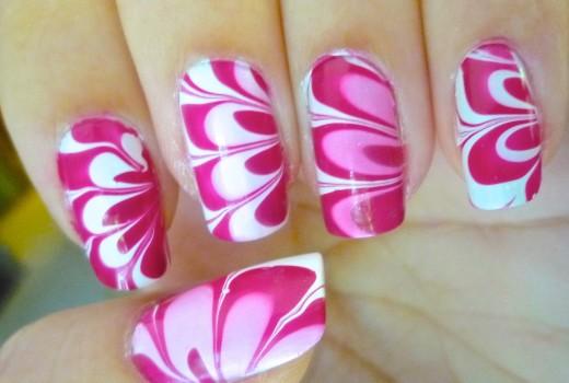 Unhas Marmorizadas – Passo-a-Passo – Marble Nails – Como Fazer – Nail Art