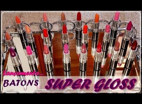 Veja os Batons Novidade da Super Gloss