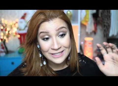 Como fazer maquiagem fácil e rápida para o Natal