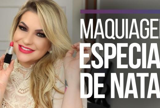 MAQUIAGEM ESPECIAL DE NATAL POR ALICE SALAZAR