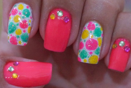 Unhas Decoradas Para o Carnaval Manual Bela e Simples