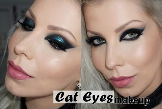 Aprenda a fazer Olhos marcantes com Cat Eyes makeup