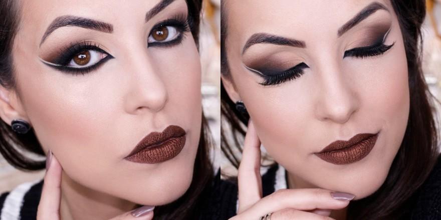 Maquiagem Árabe em tons neutros + DESAPEGA DA BRU