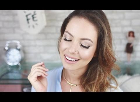 Maquiagem para Casamento de Dia | Tons de Dourado por Juliana Goes