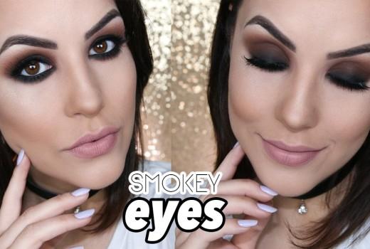 Smokey Eyes Marrom – SUPER FÁCIL