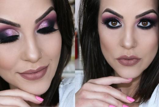 Maquiagem Colorida para Festas de Fim de Ano