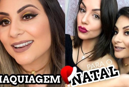 Maquiando Gabih Machado – Make Natalina