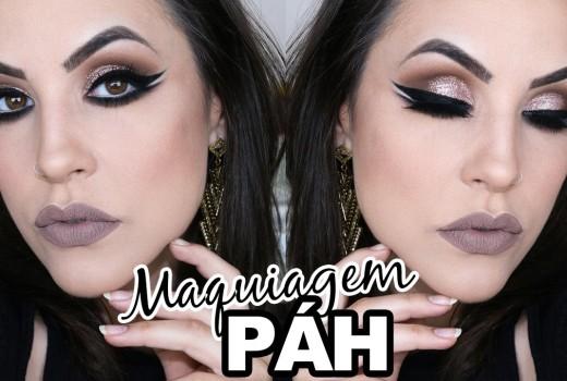 Maquiagem PÁH – Sambando na cara Dazinimiga