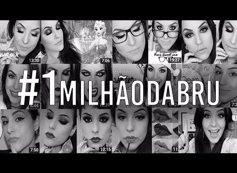 É pra vocês, é por vocês #1MilhãoDaBru