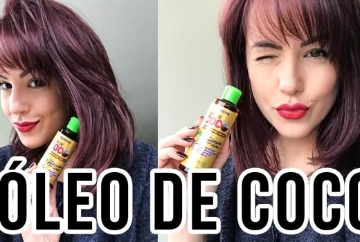 Resenha: ÓLEO DE COCO #cabelosnutridos