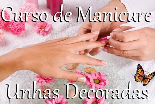 Curso Manicure e Unhas Decoradas com Certificado