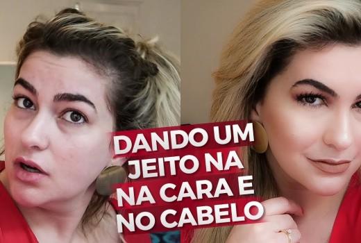MAKE E CABELO PARA SAIR DECENTE DE CASA POR ALICE SALAZAR