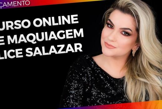 CURSO ONLINE DE MAQUIAGEM ALICE SALAZAR