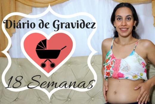 Diário de Gravidez: Mês 4 – Semana 18 – Descobrimos o Sexo do Bebê – Juliana Santos