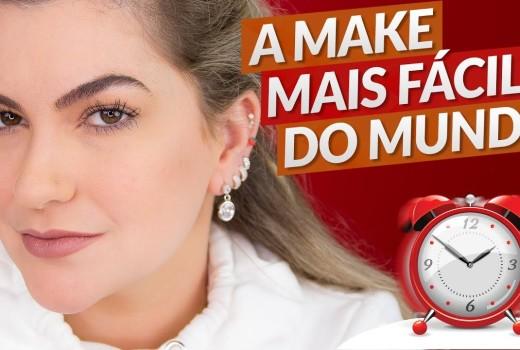 MAKE BARATINHA PARA QUEM ESTÁ ATRASADA | ALICE SALAZAR