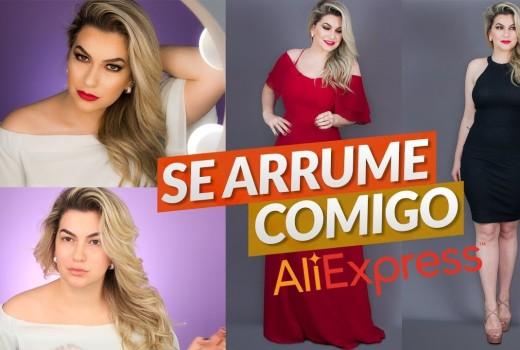 SE ARRUME COMIGO COM ALIEXPRESS | ALICE SALAZAR