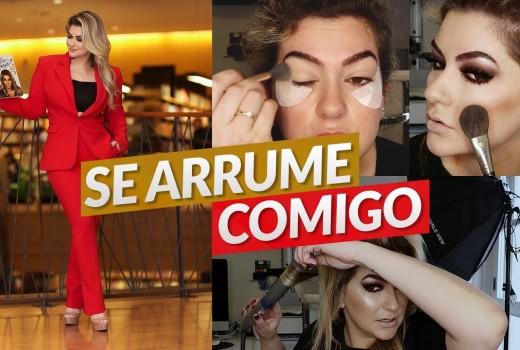 SE ARRUME COMIGO: MAKE, CABELO E LOOK | ALICE SALAZAR