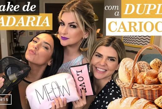 MAKE DE PADARIA COM A DUPLA CARIOCA | VEDA #15 ALICE SALAZAR