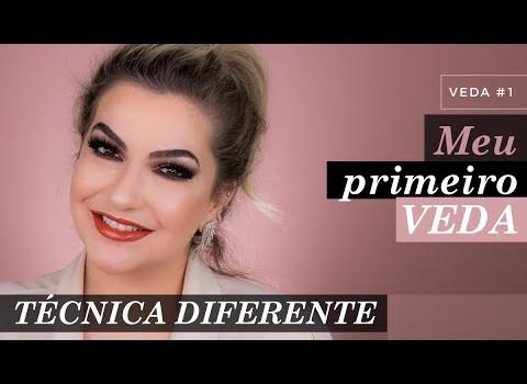 VEDA #1 – MAKE COM TÉCNICA ELABORADA| ALICE SALAZAR